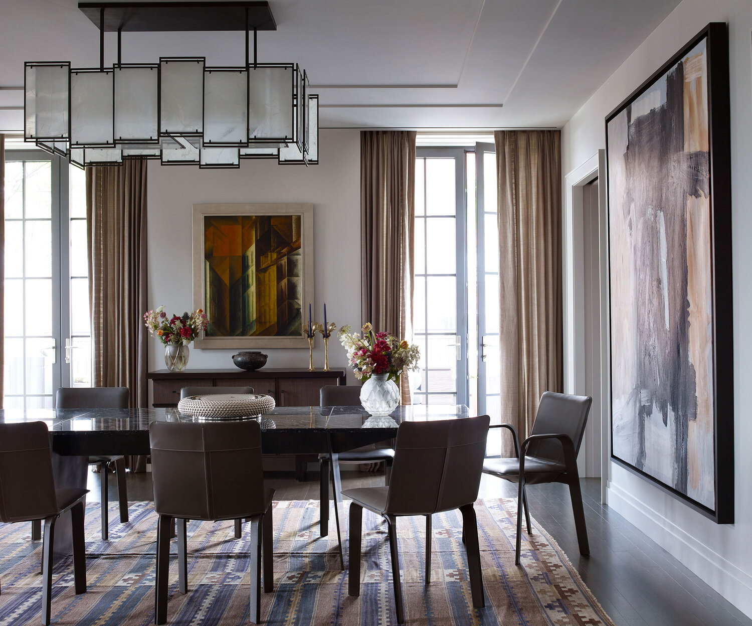 West Village Penthouse. Interior design by Wesley Moon