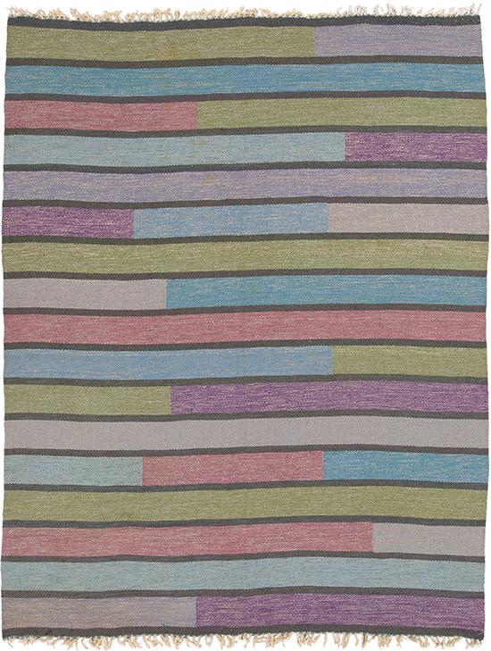 02815 Swedish Flat Weave Rug | FJ Hakimian