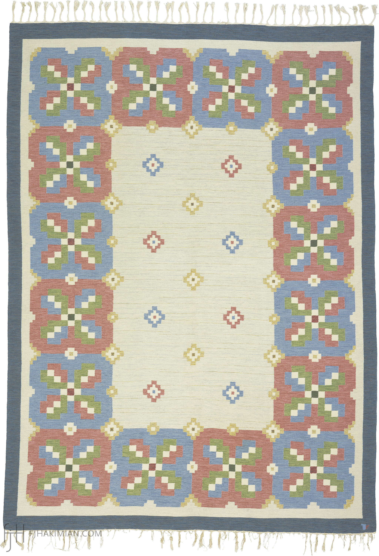 Swedish Flat Weave 02849 | FJ Hakimian