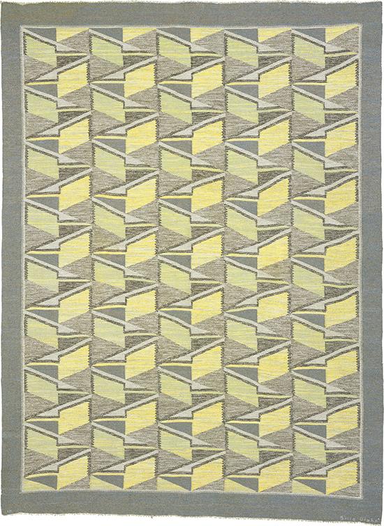 02925 Swedish Flat Weave Rug | FJ Hakimian