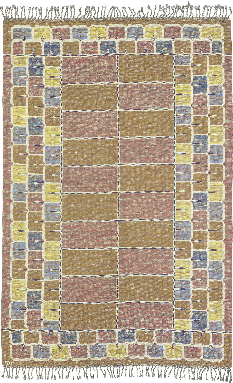 02934 Swedish Flat Weave Rug | FJ Hakimian