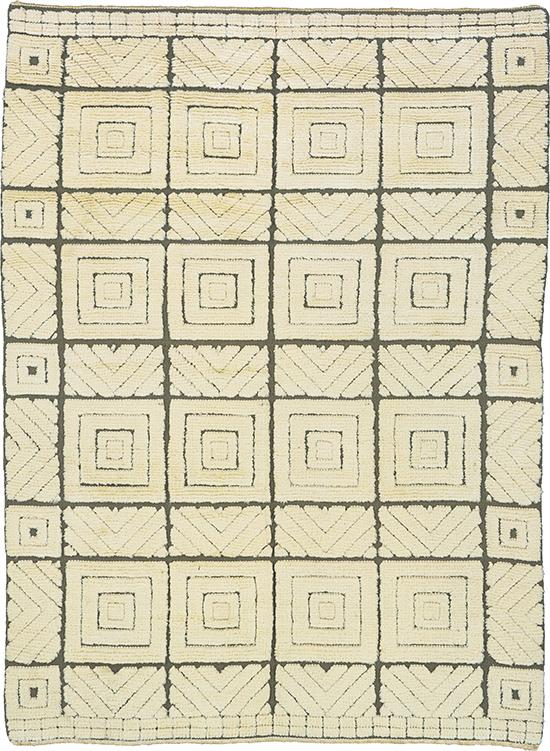 03298 Swedish 'reliefflossa' carpet | FJ Hakimian