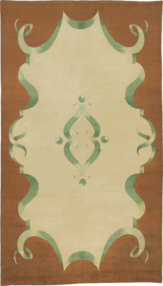Art Deco Savonnerie Carpet #03351   FJ Hakimian