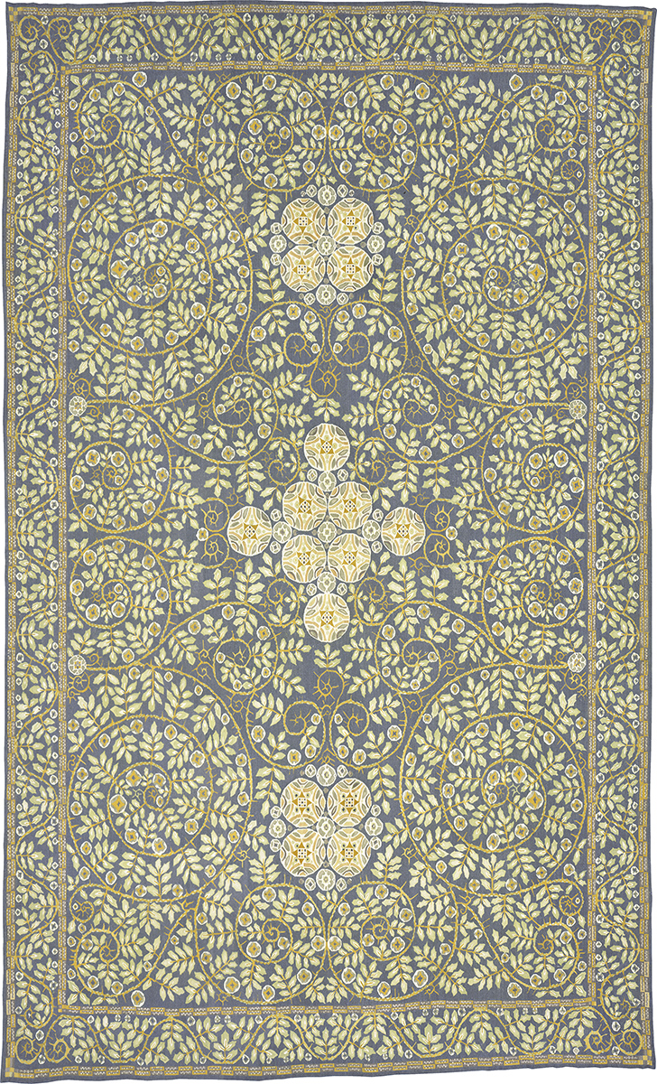 Custom Wiener Werkstatte Carpet | FJ Hakimian