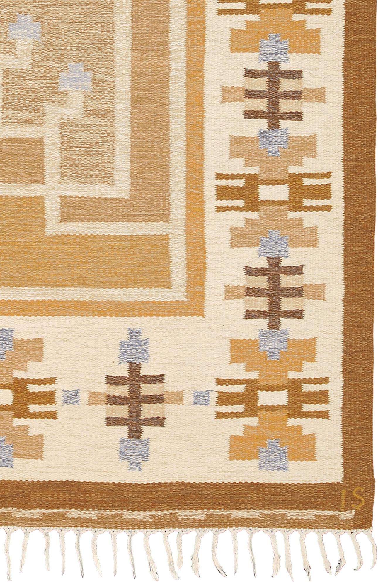 Swedish Flat Weave Rug #22052   FJ Hakimian