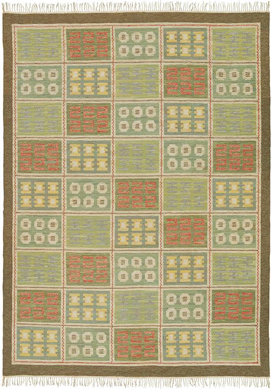 Swedish Flat Weave Rug #22083 | FJ Hakimian