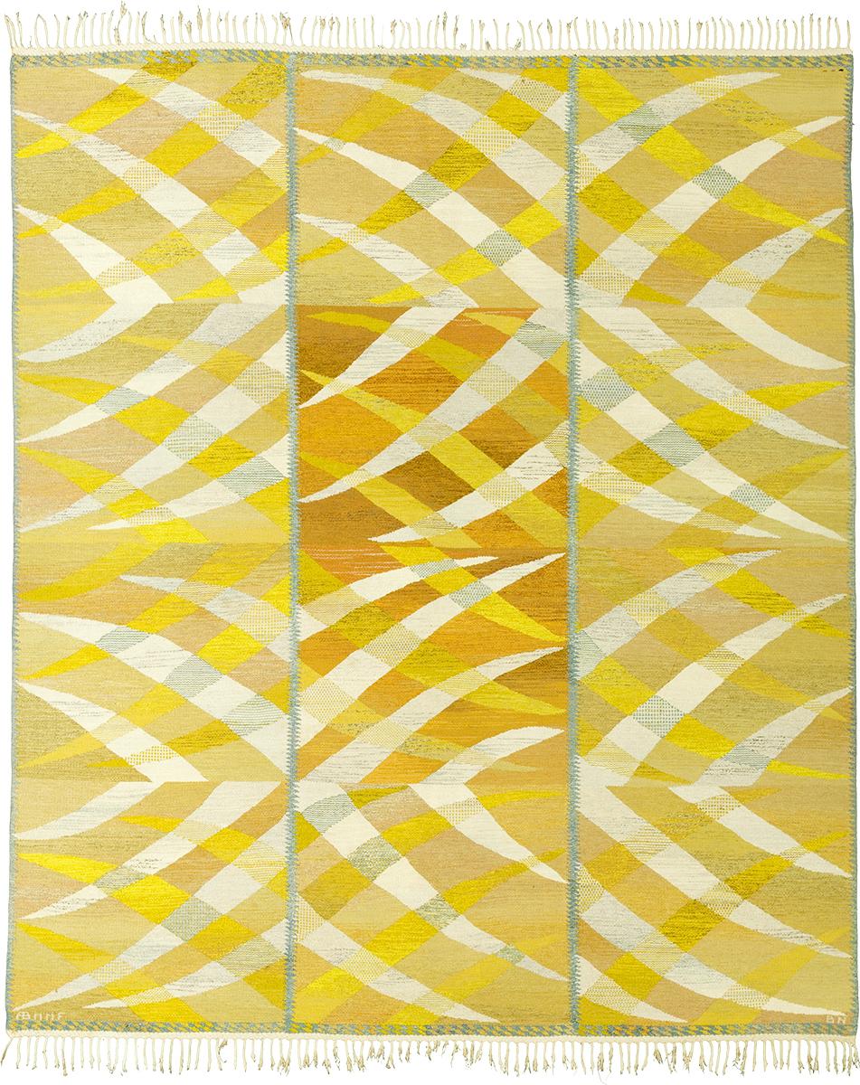 Swedish Flat Weave Rug #22165 | FJ Hakimian
