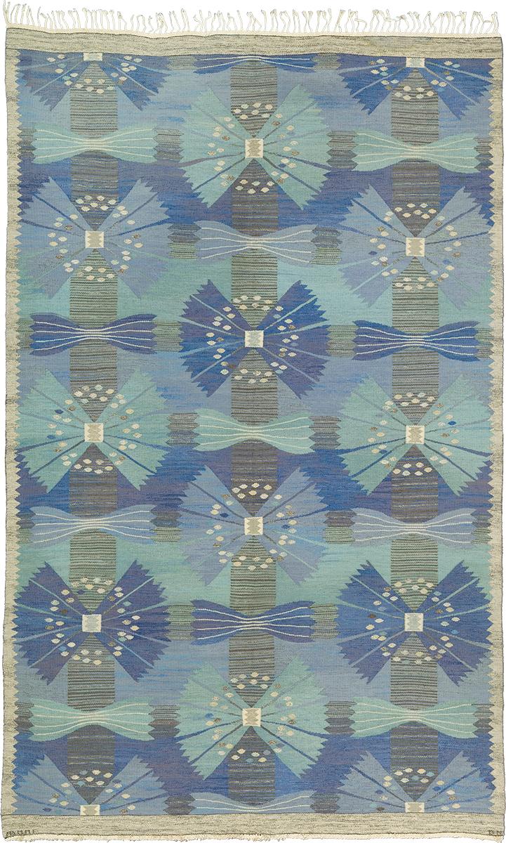 Swedish Flat Weave Rug #22179   FJ Hakimian