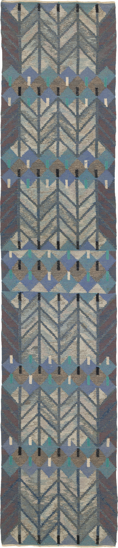 22273 Swedish Flat Weave Runner   FJ Hakimain