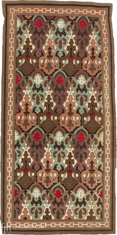Louis Philippe Aubusson carpet #22287 | FJ Hakimian
