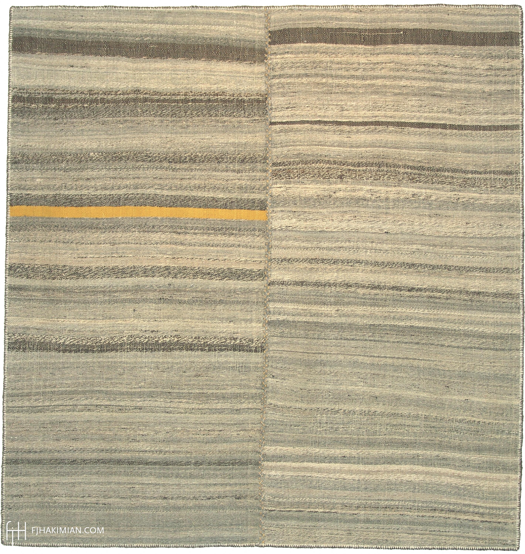 23034 Vintage Kilim Composition | FJ Hakimian