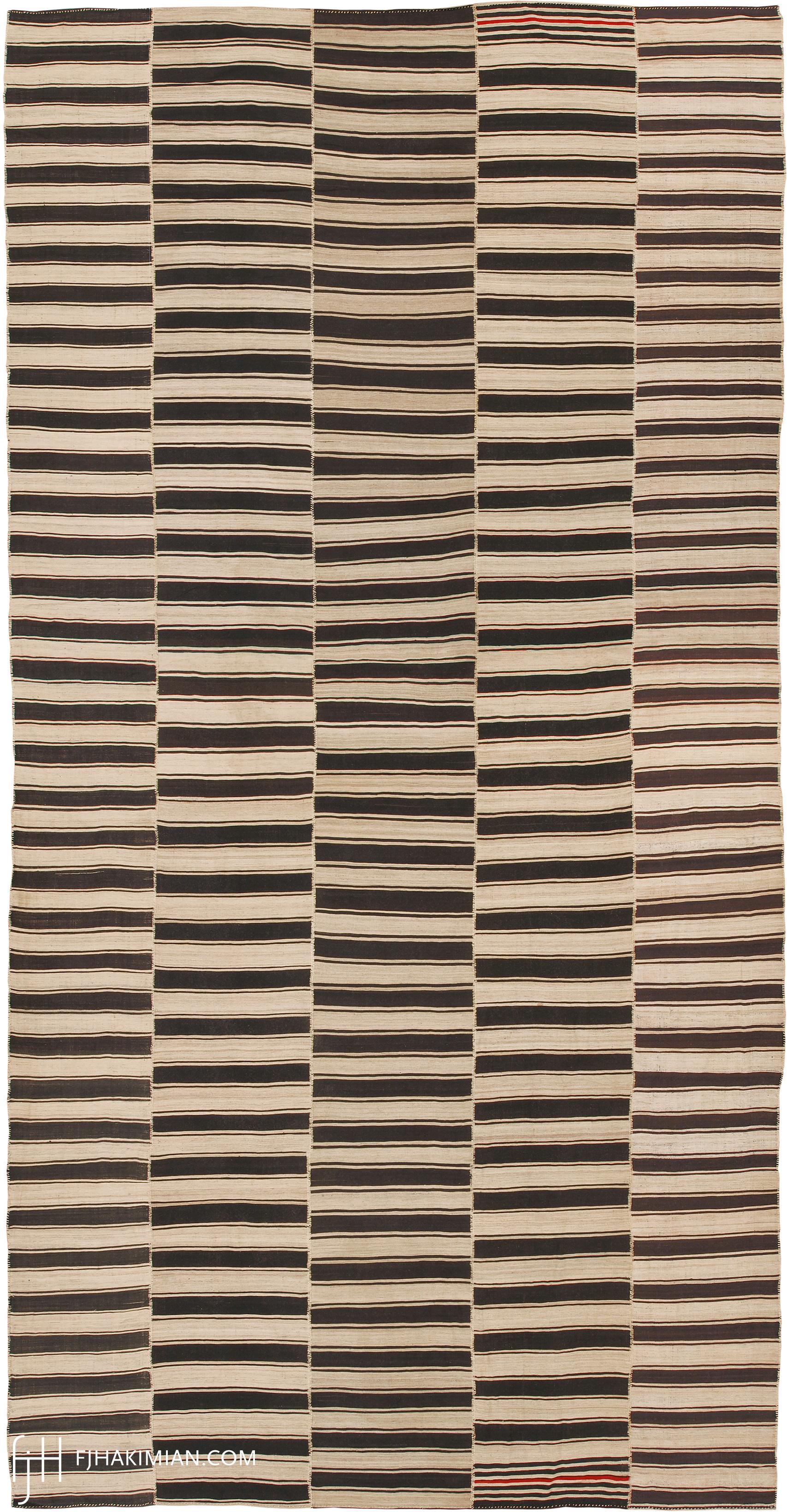 23042 Vintage Kilim Composition | FJ Hakimian