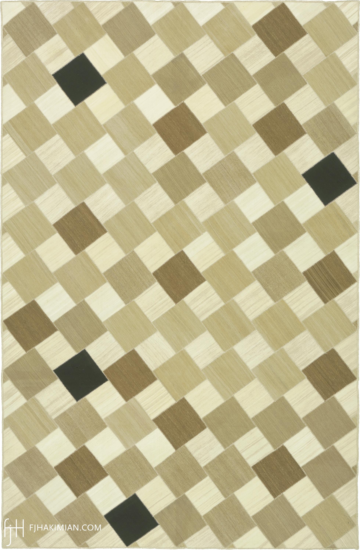 23056 Vintage Kilim Composition | FJ Hakimian