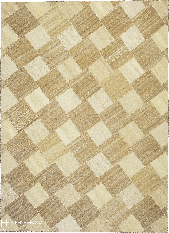 23066 Vintage Kilim Composition | FJ Hakimian