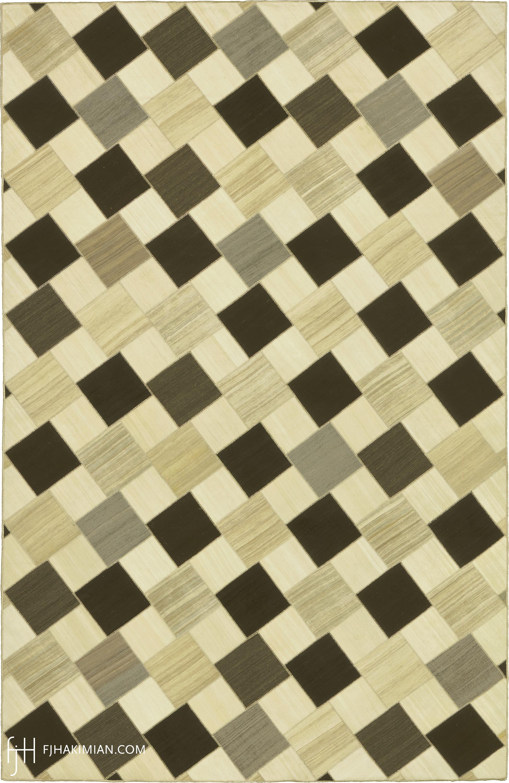 23101 Vintage Kilim Composition | FJ Hakimian