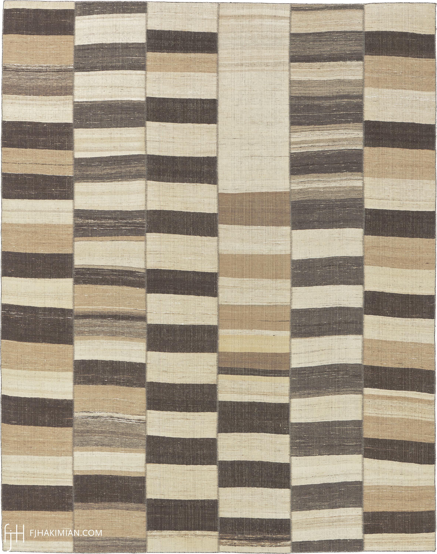 23155 Vintage Kilim Composition | FJ Hakimian