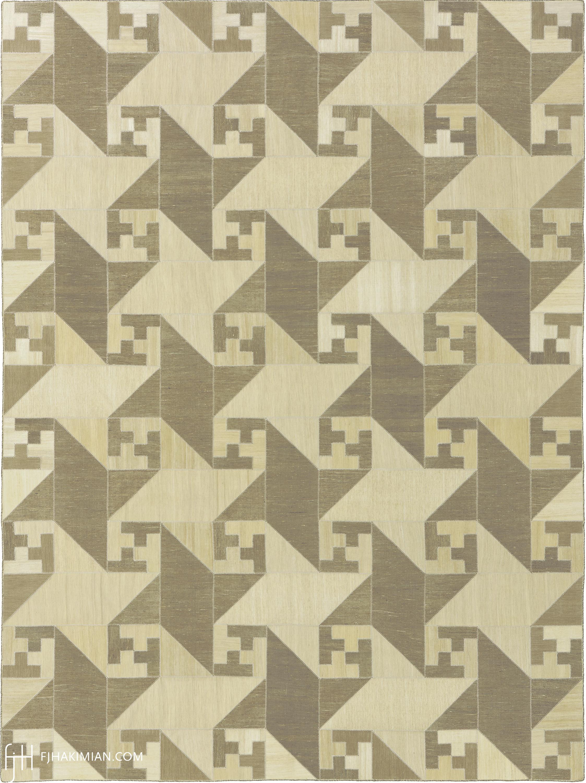 23156 Vintage Kilim Composition | FJ Hakimian