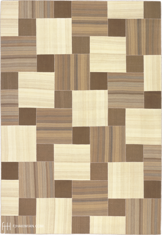 23163 Vintage Kilim Composition | FJ Hakimian