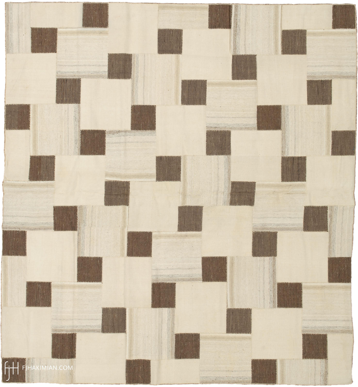 Vintage Kilim Composition #23169   FJ Hakimian