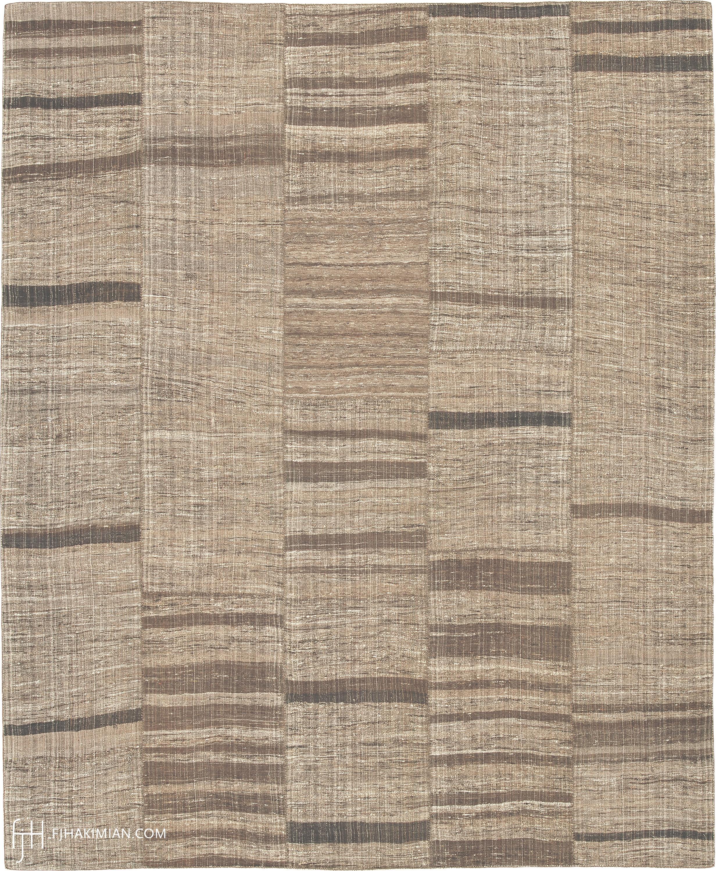 23234 Vintage Kilim Composition | FJ Hakimian
