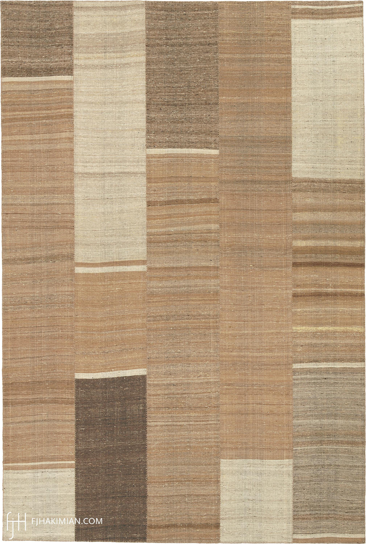 23273 Vintage Kilim Composition | FJ Hakimian