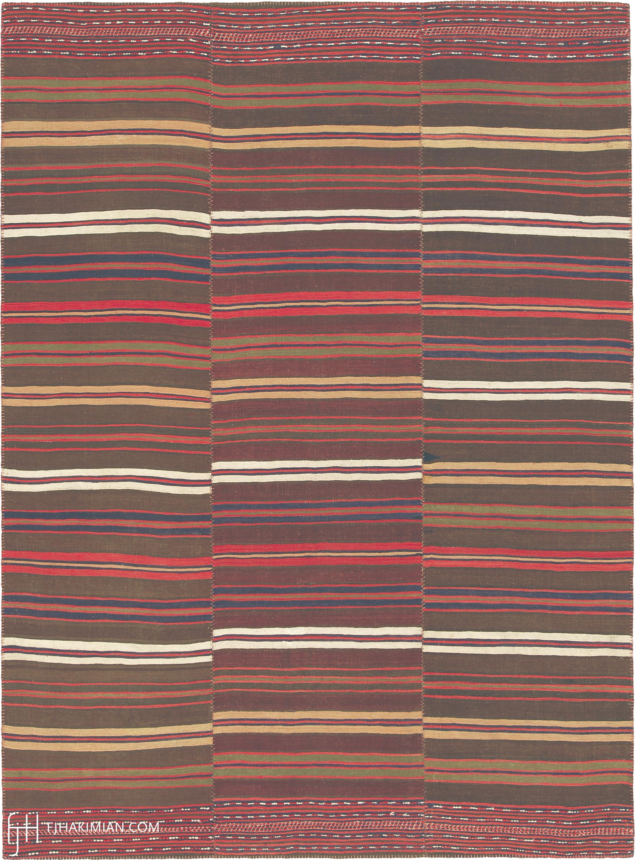 23317 Vintage Kilim Composition | FJ Hakimian