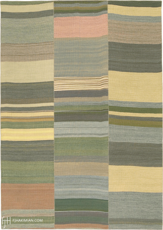 23322 Vintage Kilim Composition | FJ Hakimian