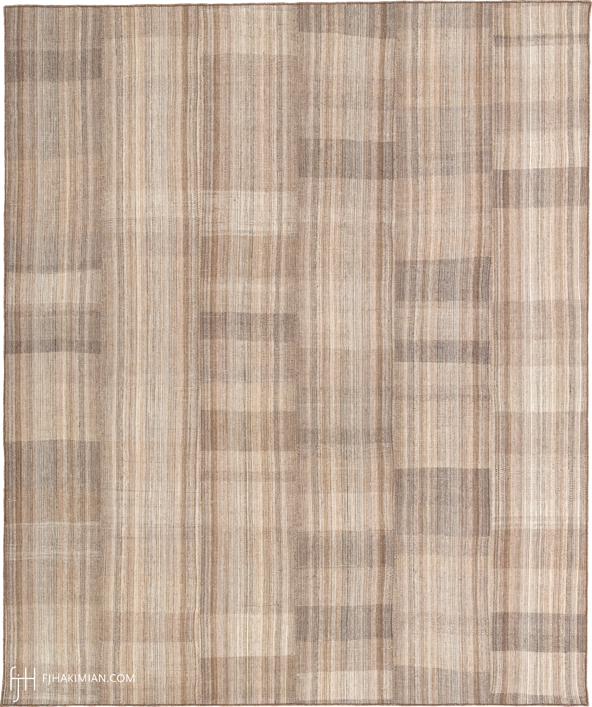 23349 Vintage Kilim Composition | FJ Hakimian