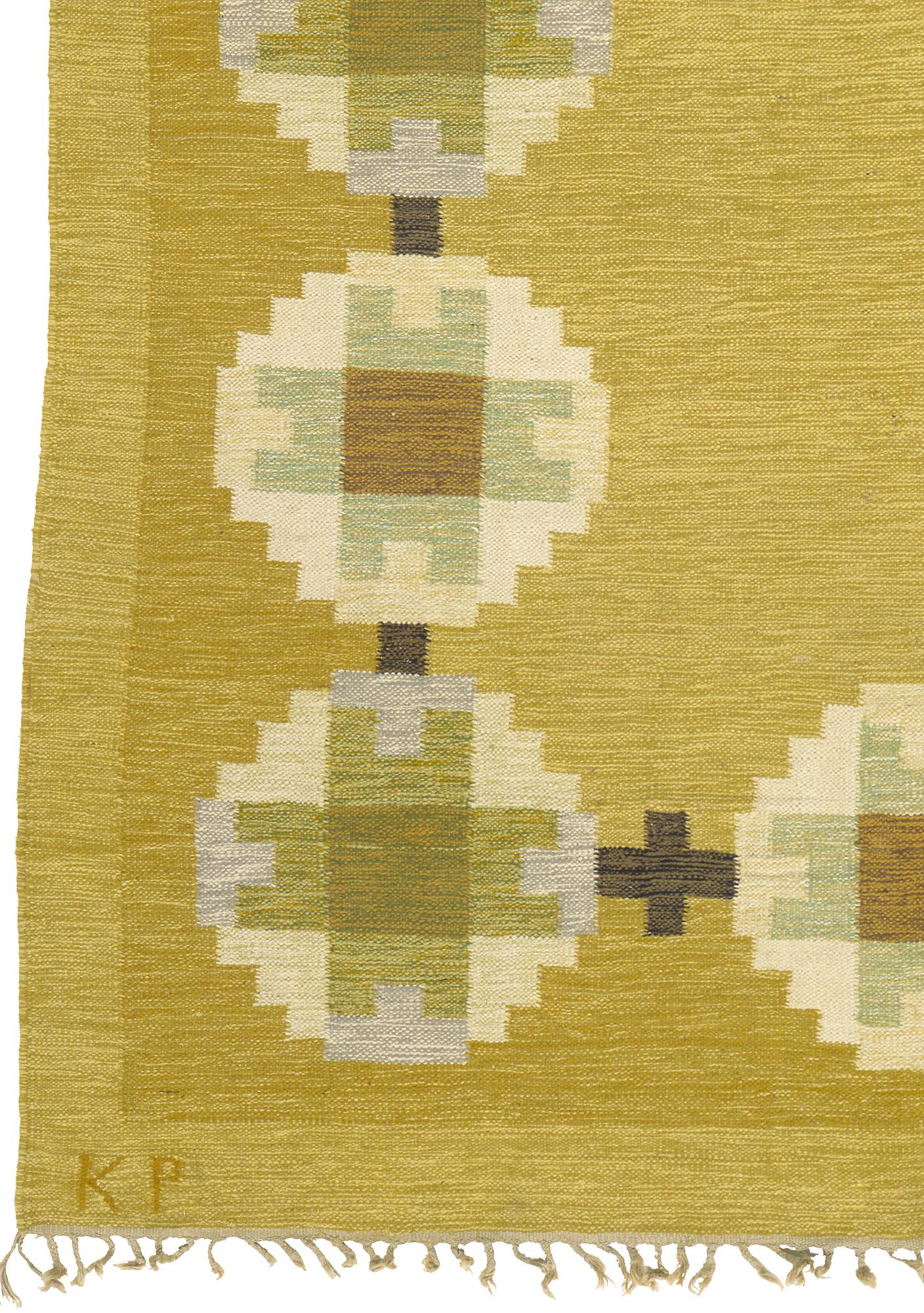 Swedish Flat Weave Rug #02636 | FJ Hakimian