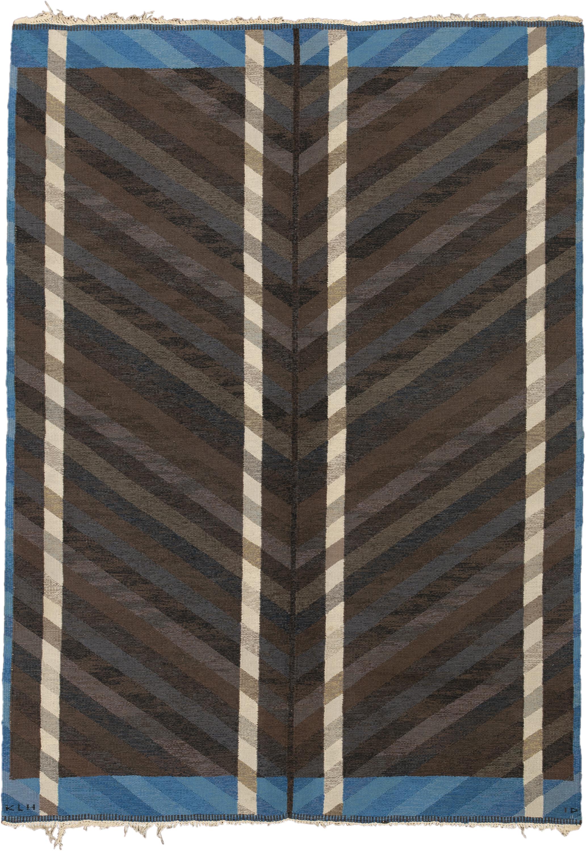 Swedish Flat Weave #02641 | FJ Hakimian