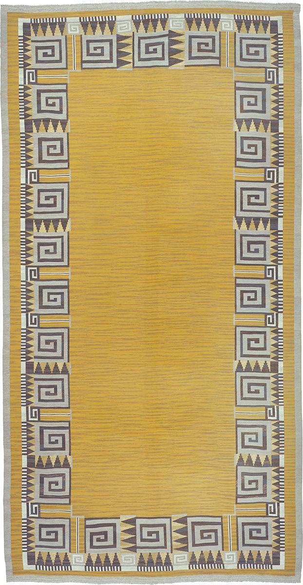 Swedish Flat Weave Rug #02762 | FJ Hakimian
