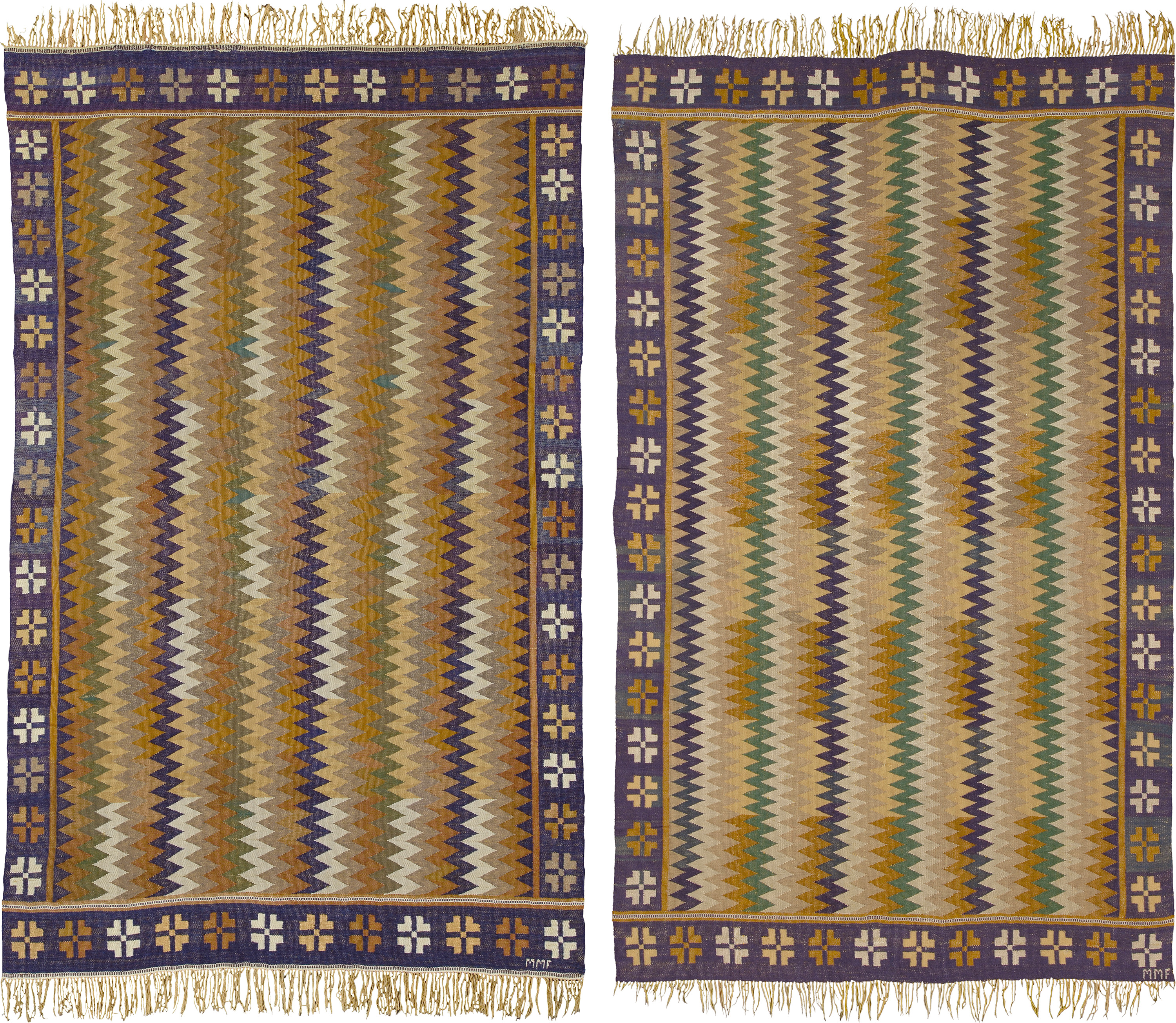 2767 and 2807 Swedish Flat Weave Rug | FJ Hakimian