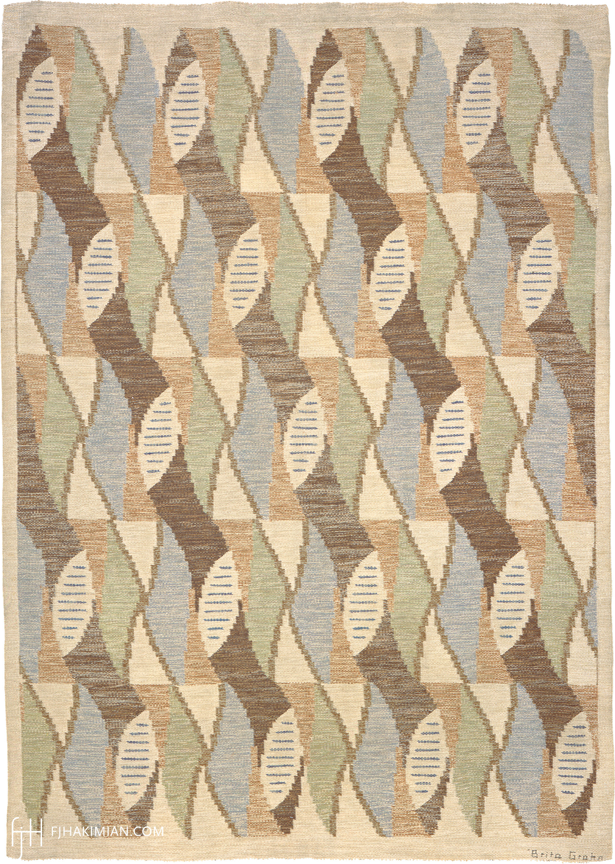 Swedish Flat Weave #02783   FJ Hakimian