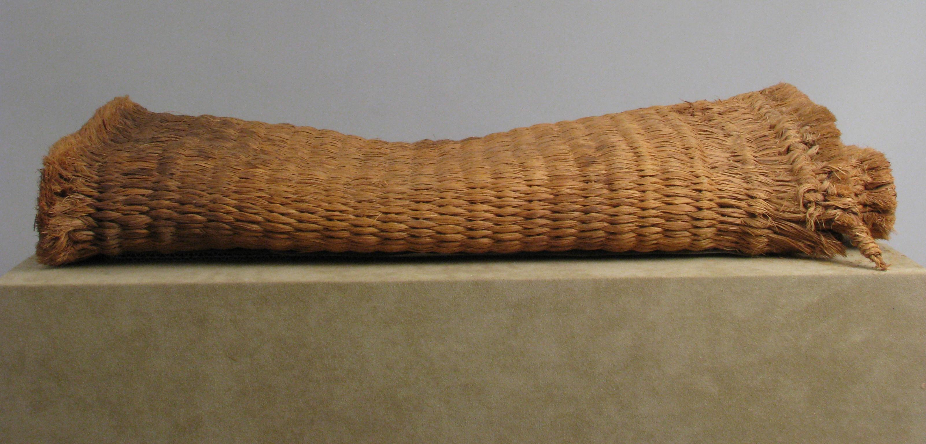Woven Mat. The Metropolitan Museum of Art.