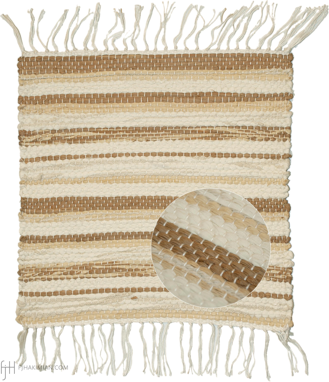 CS-Twine-Raffia-Cotton-Flat Pile | FJ Hakimian