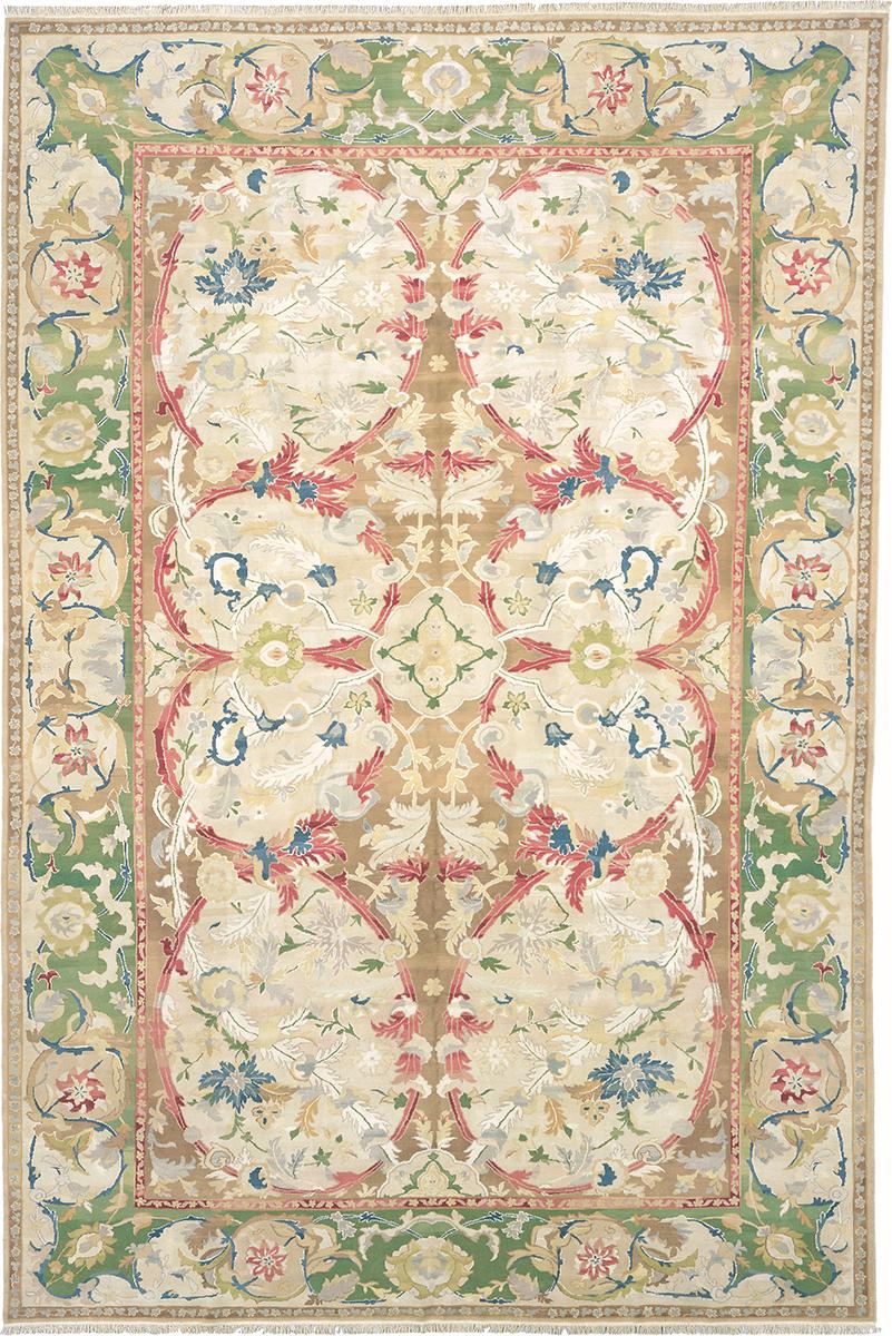 Custom Red Vine Carpet | FJ Hakimian