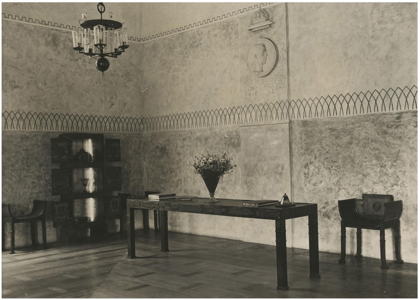 The Swedish pavilion at the Paris International Exhibition of 1925