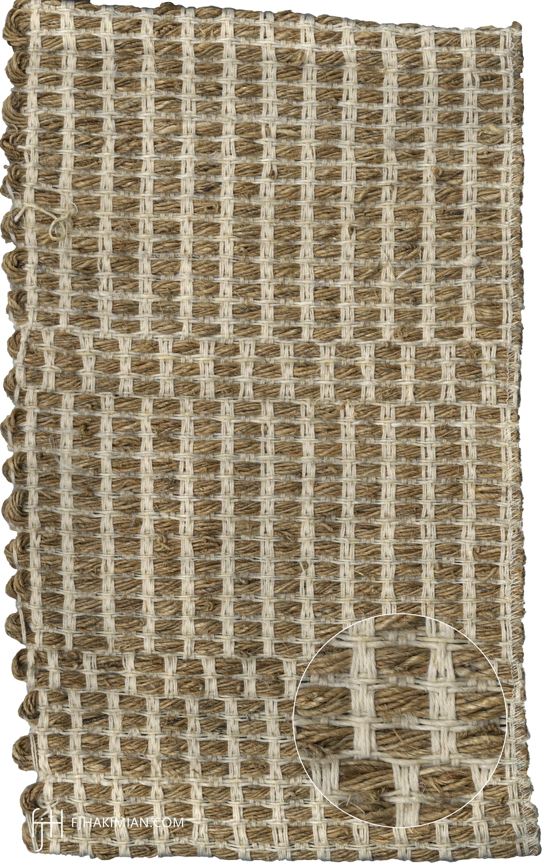 IF-Sardinian-Cotton-Bleached Hemp-Nettle-Mat Sample1- FJ Hakimian