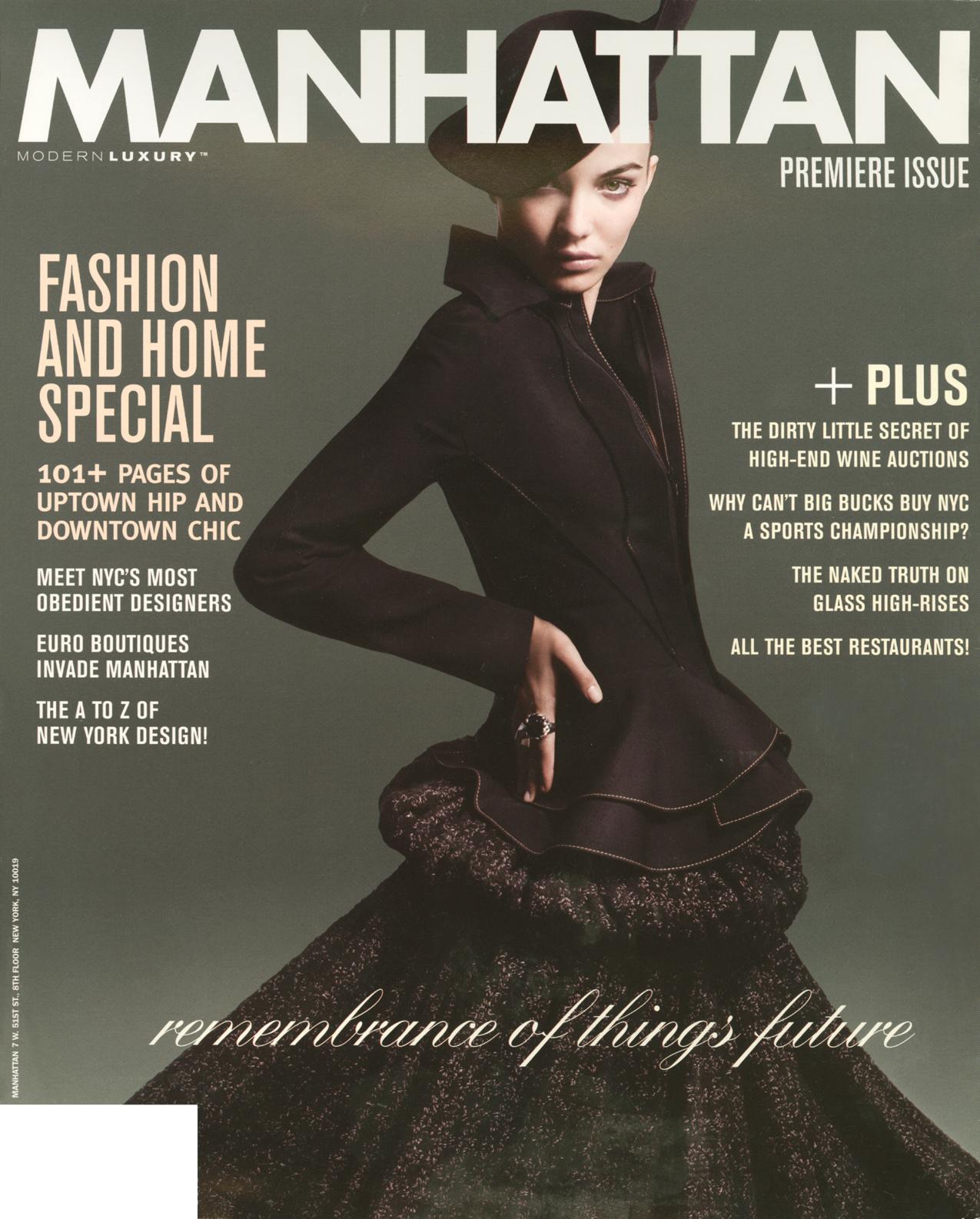 Manhattan Magazine 2008 September/October