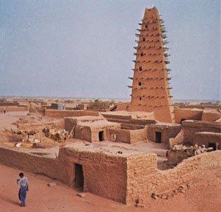 Mosque in Agadez   FJ Hakimian