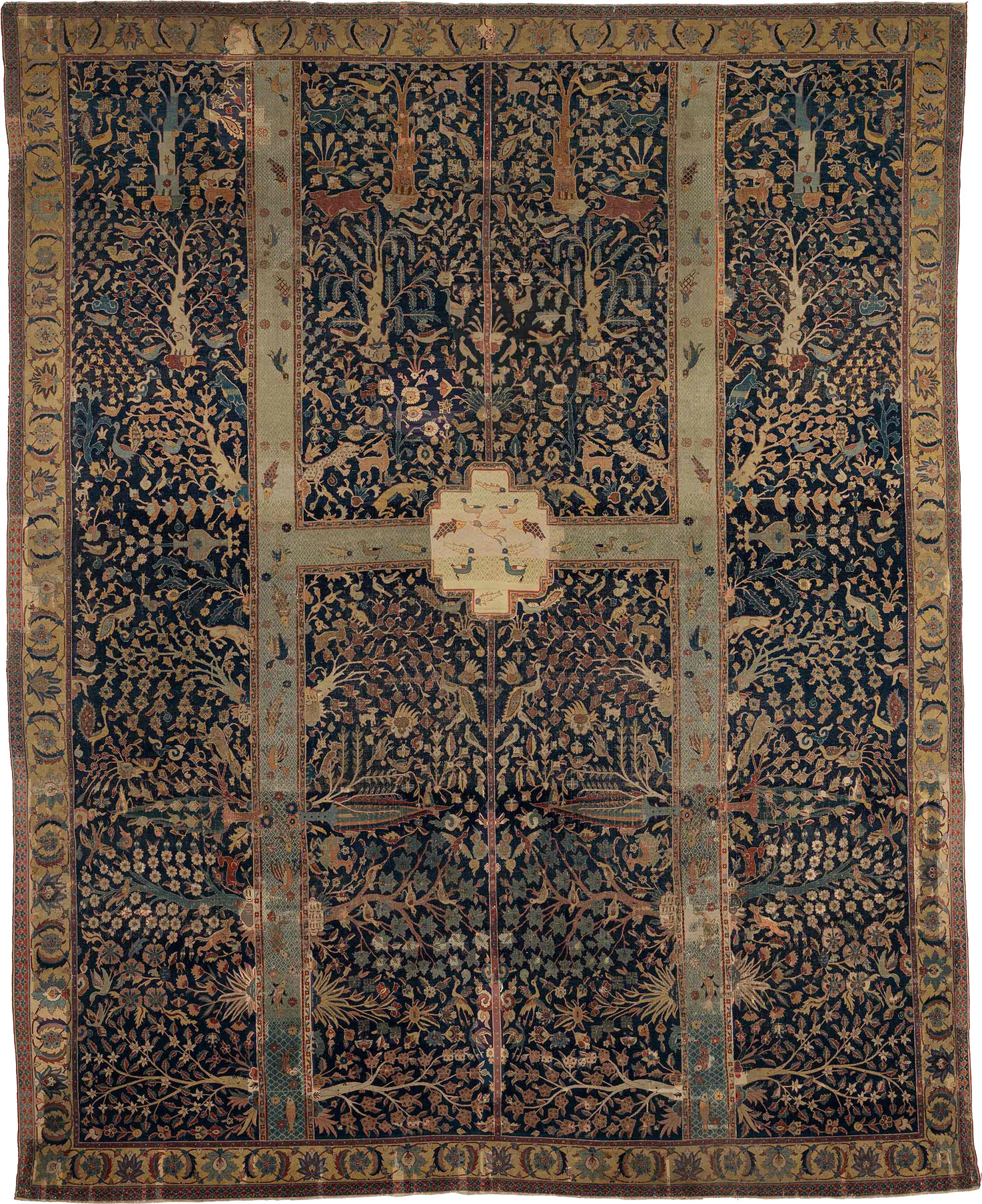 The Wagner Garden Carpet from the Burrell Collection