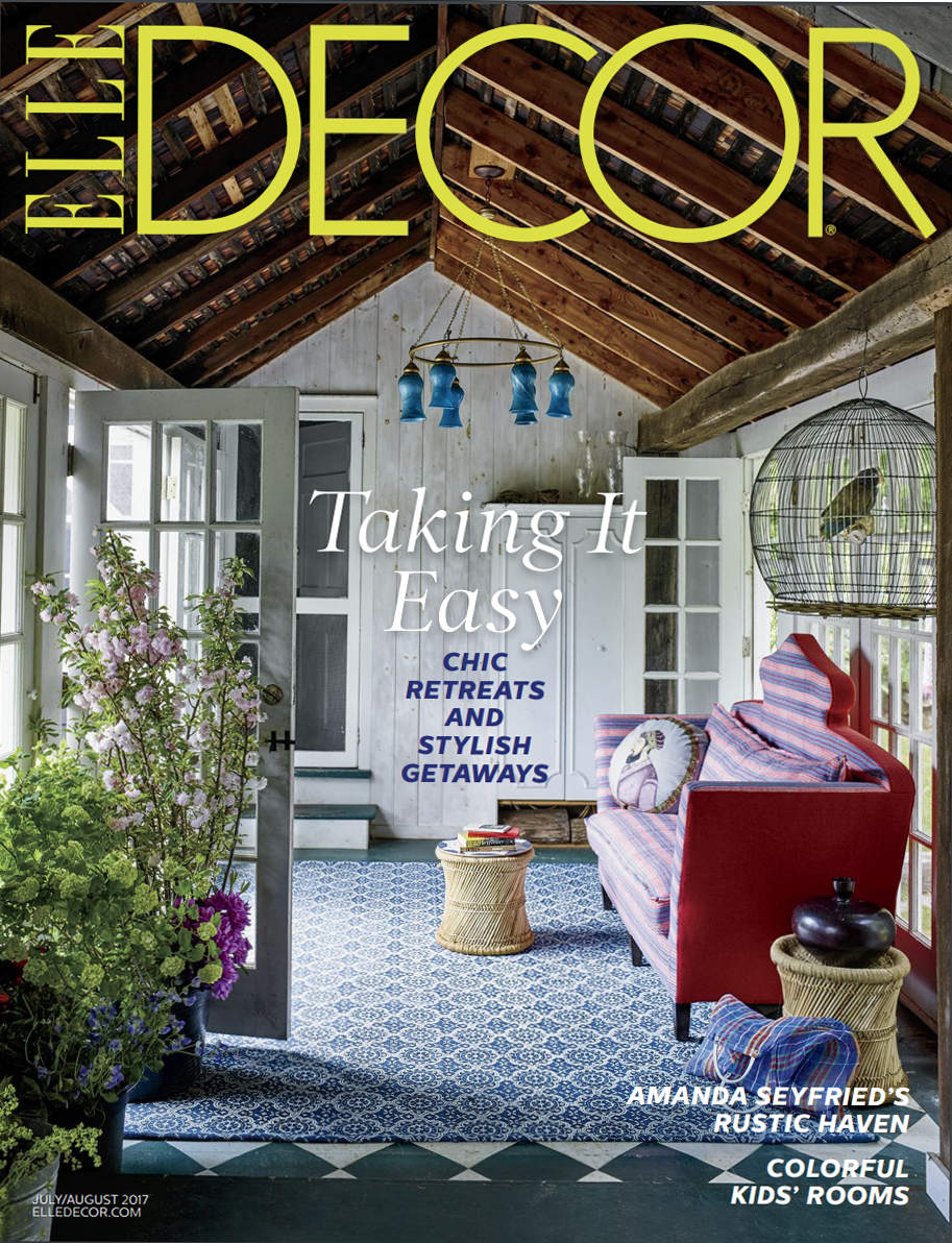 Elite Decor Cover July/August 2017