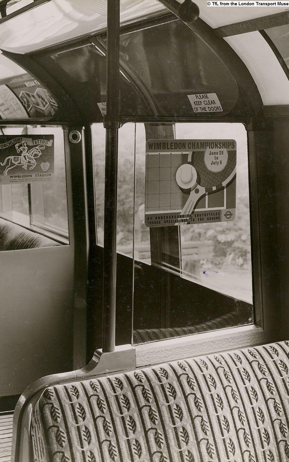 marion dorn-train seats